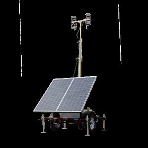 Torre de Iluminación Solar WLTS4