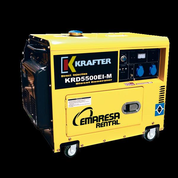 Generador Krafter Diésel 5 kva